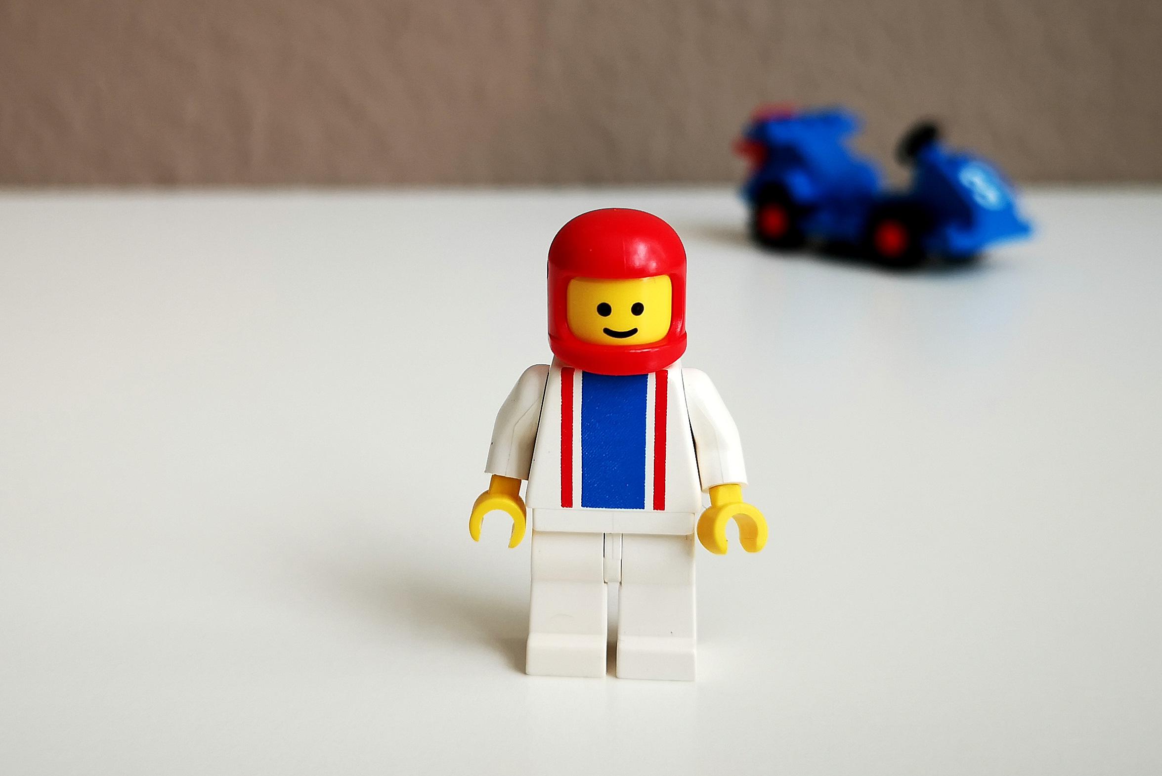 LEGO Set 6605 Figur Großaufnahme Front