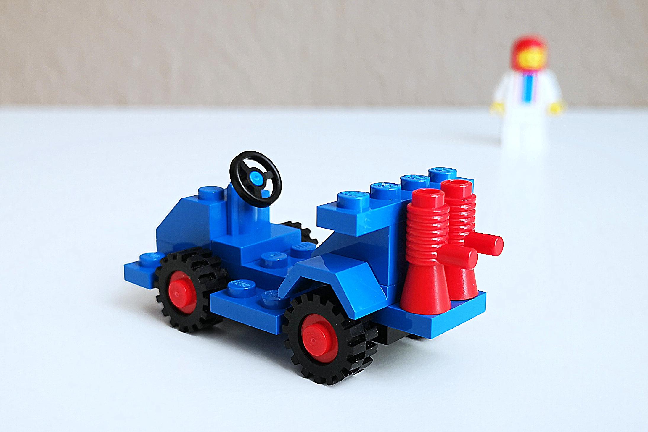 LEGO Set 6605 Auto Großaufnahme Back