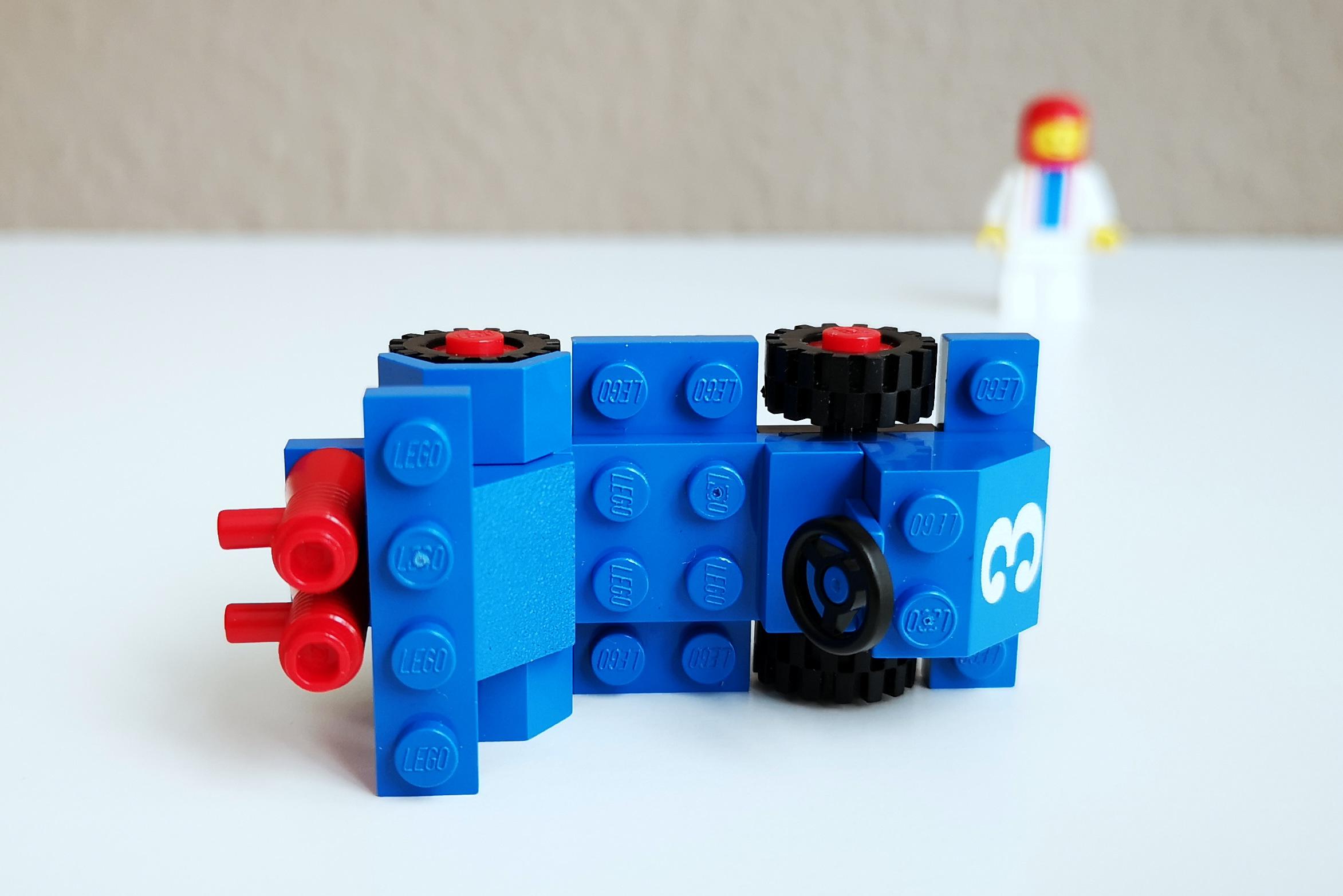 LEGO Set 6605 Auto Großaufnahme von oben