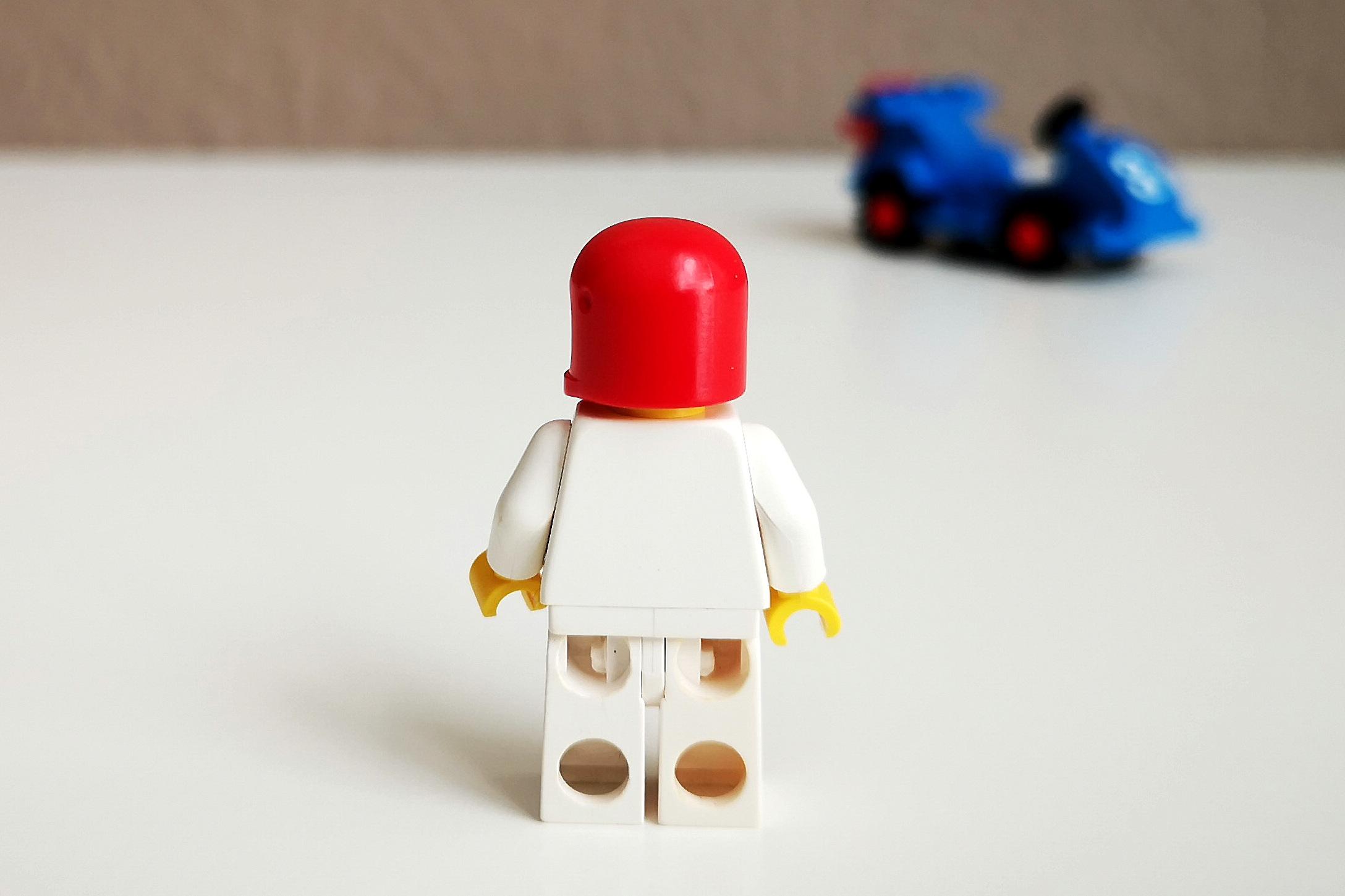 LEGO Set 6605 Figur Großaufnahme Backsite