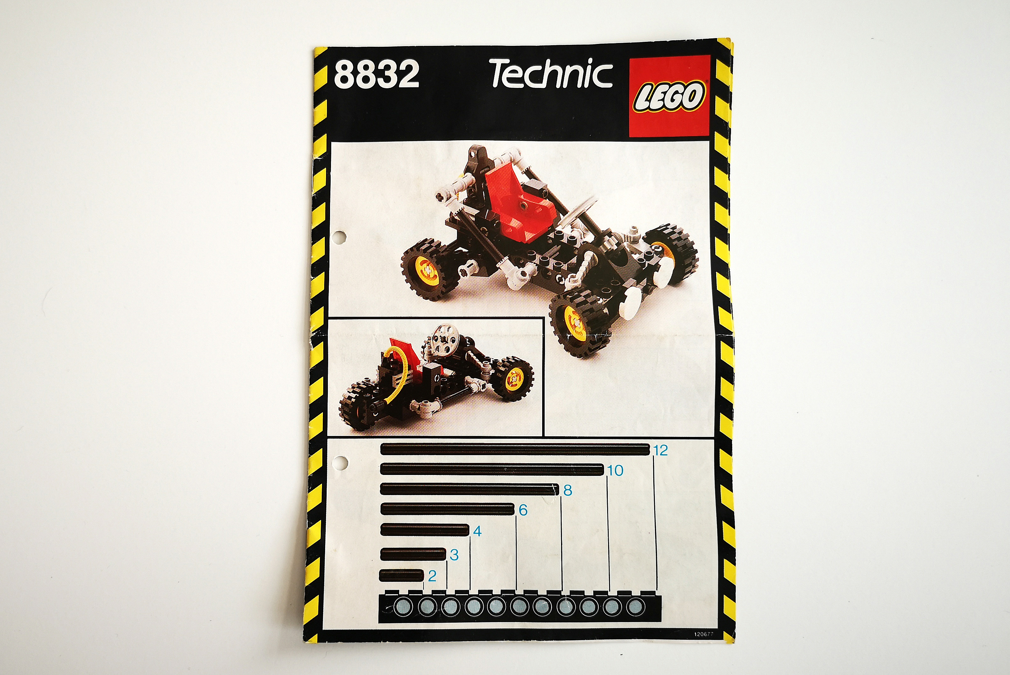 LEGO Set 8832 Review Instruction Anleitung