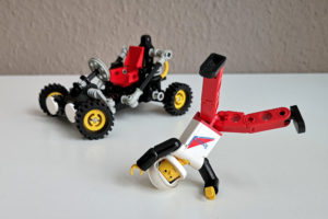 LEGO 8832 Review mit Figuren 8712 Breakdance