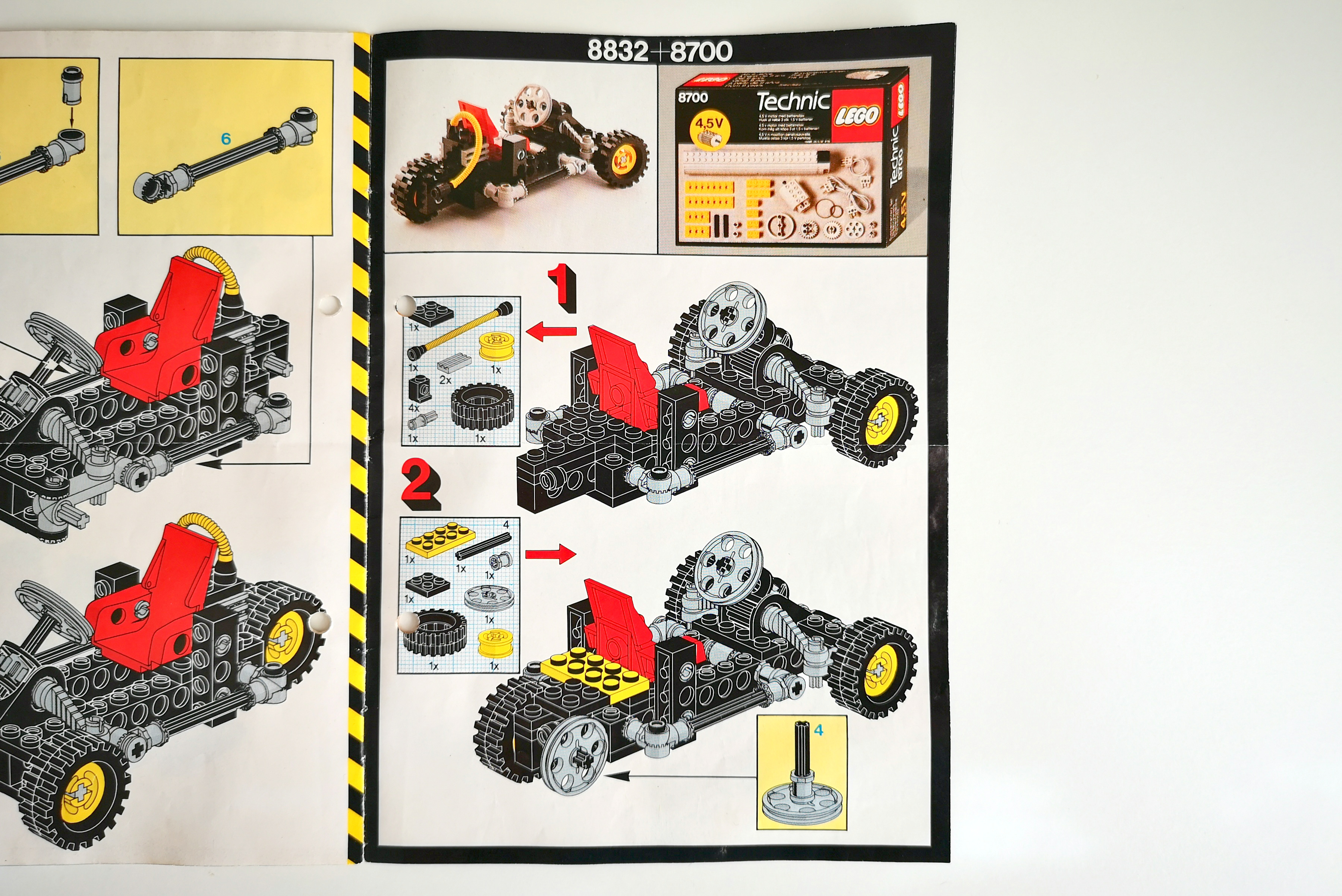 LEGO 8832 Review Alternativmodell mit Motor Set 8700