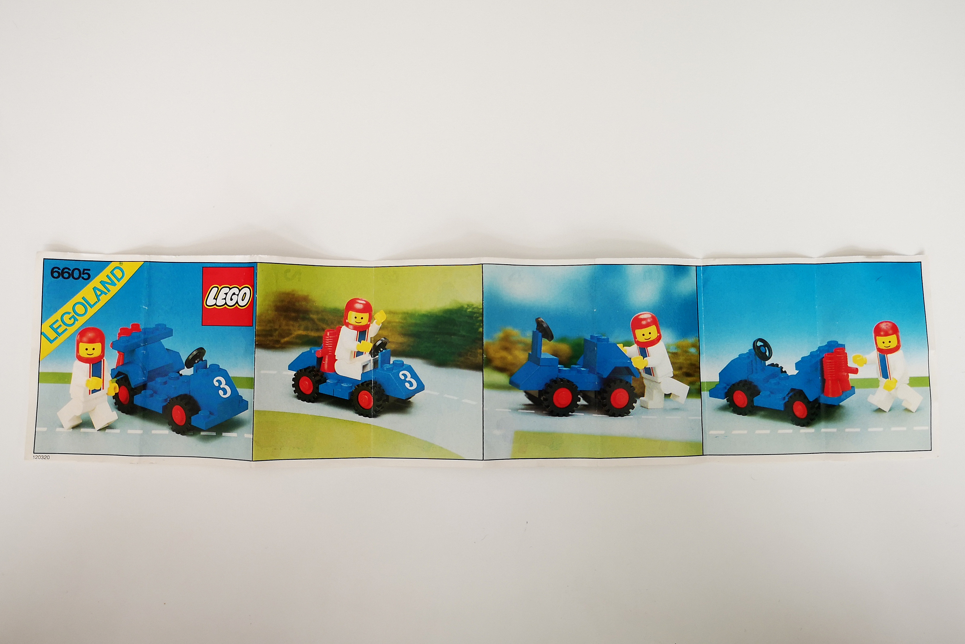 LEGO Review 6605 Anleitung