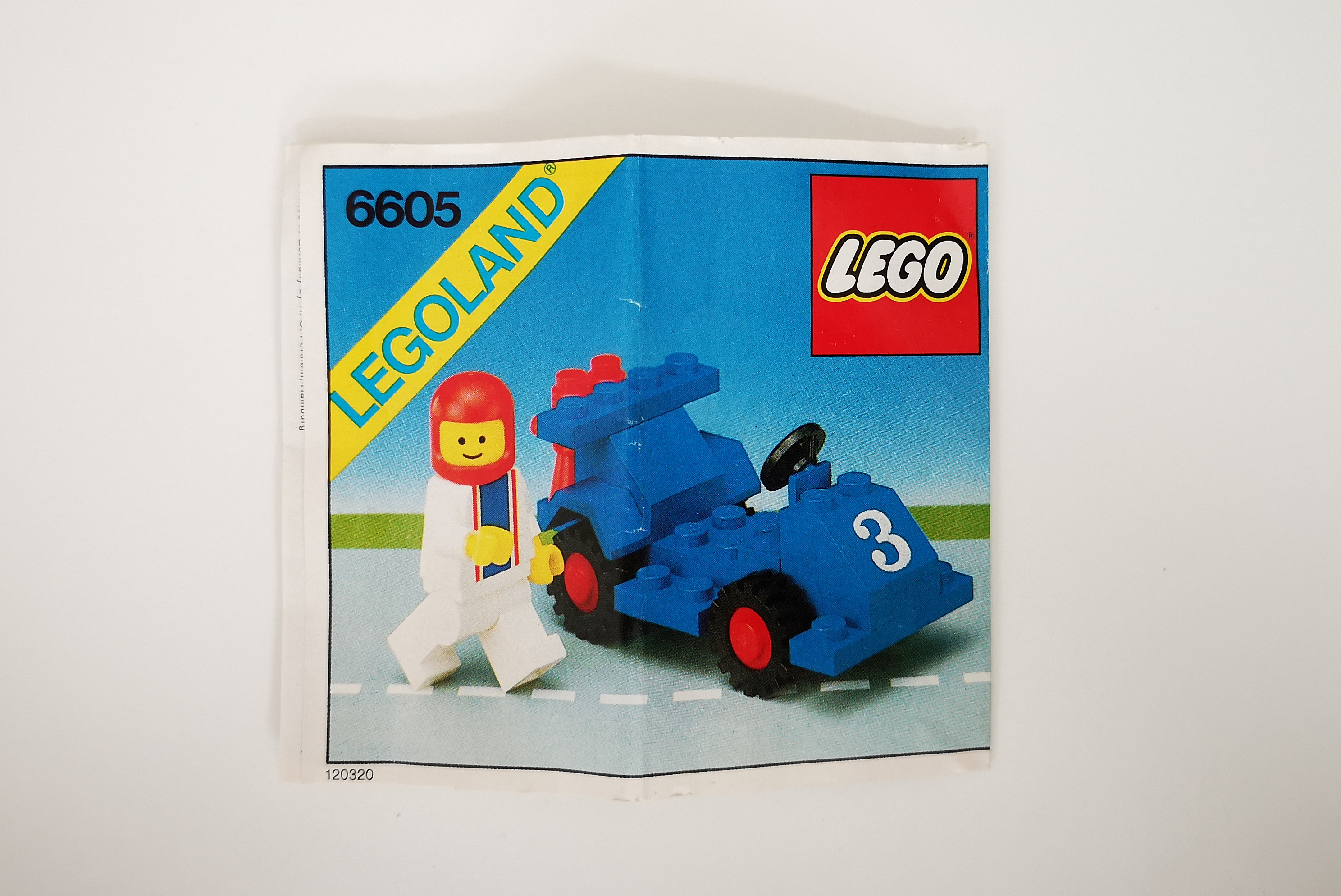 LEGO Review 6605 Instruction Front