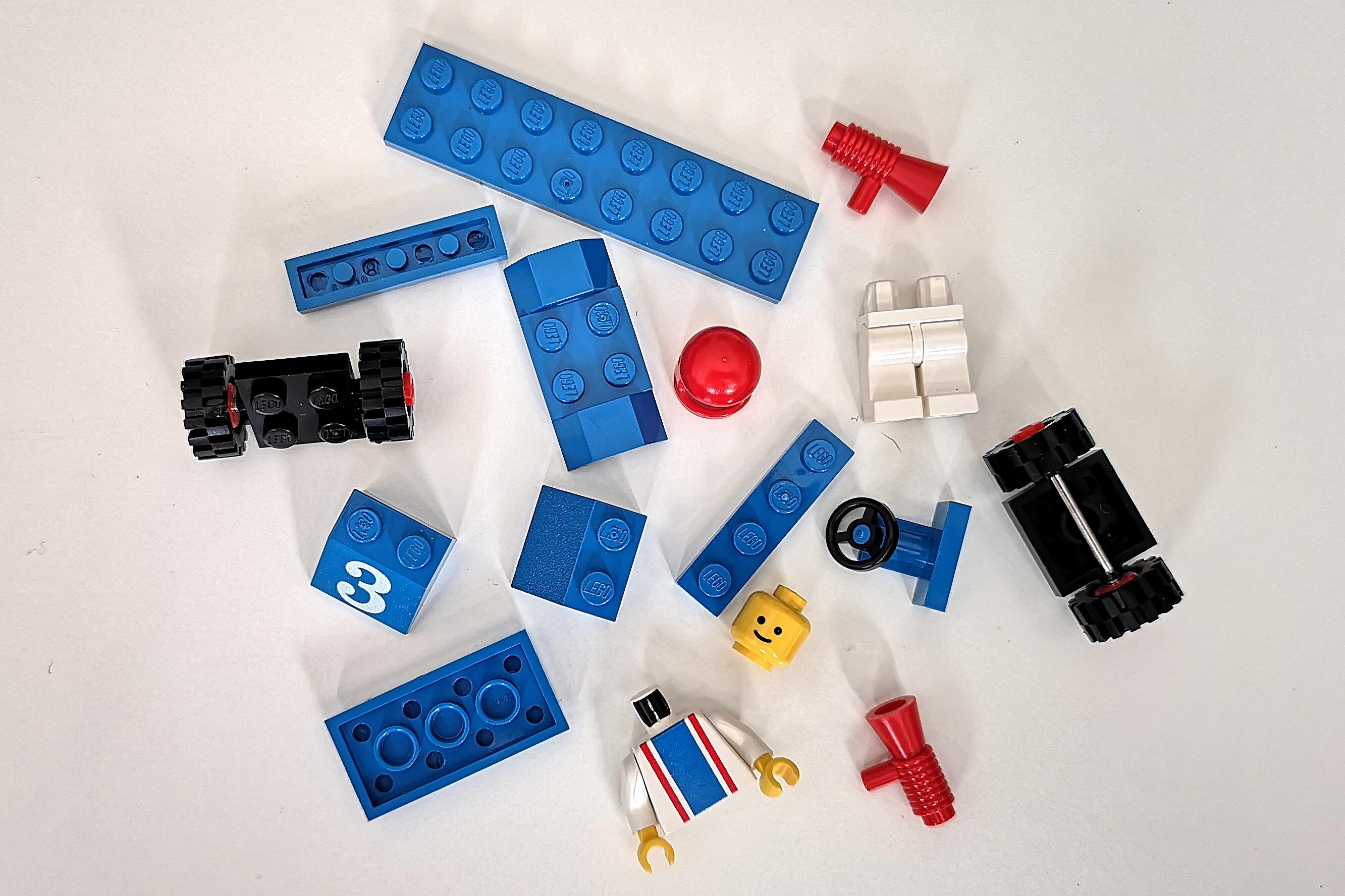 LEGO Review 6605 alle Teile auf einen Blick