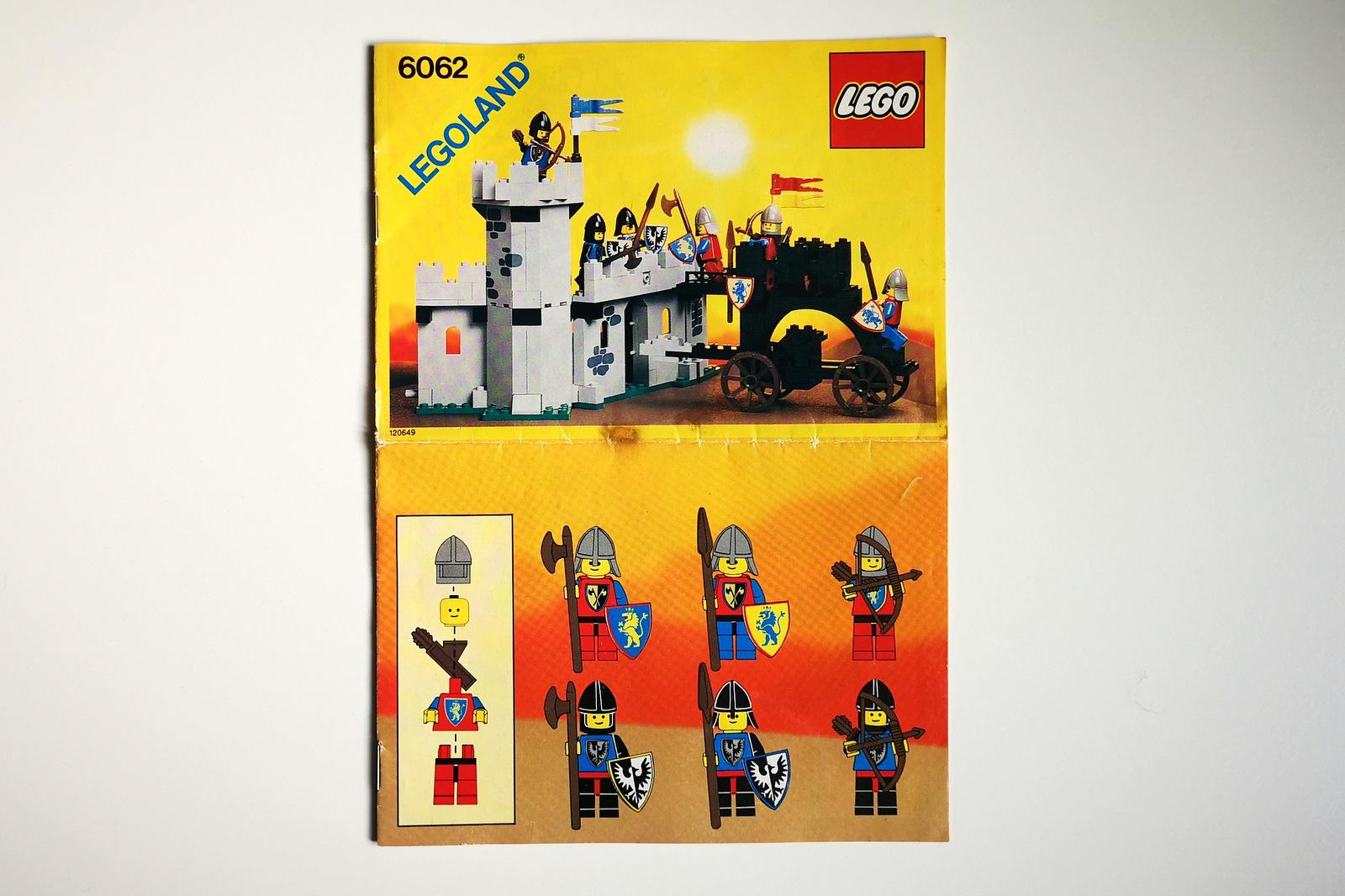 LEGO 6062 Anleitung