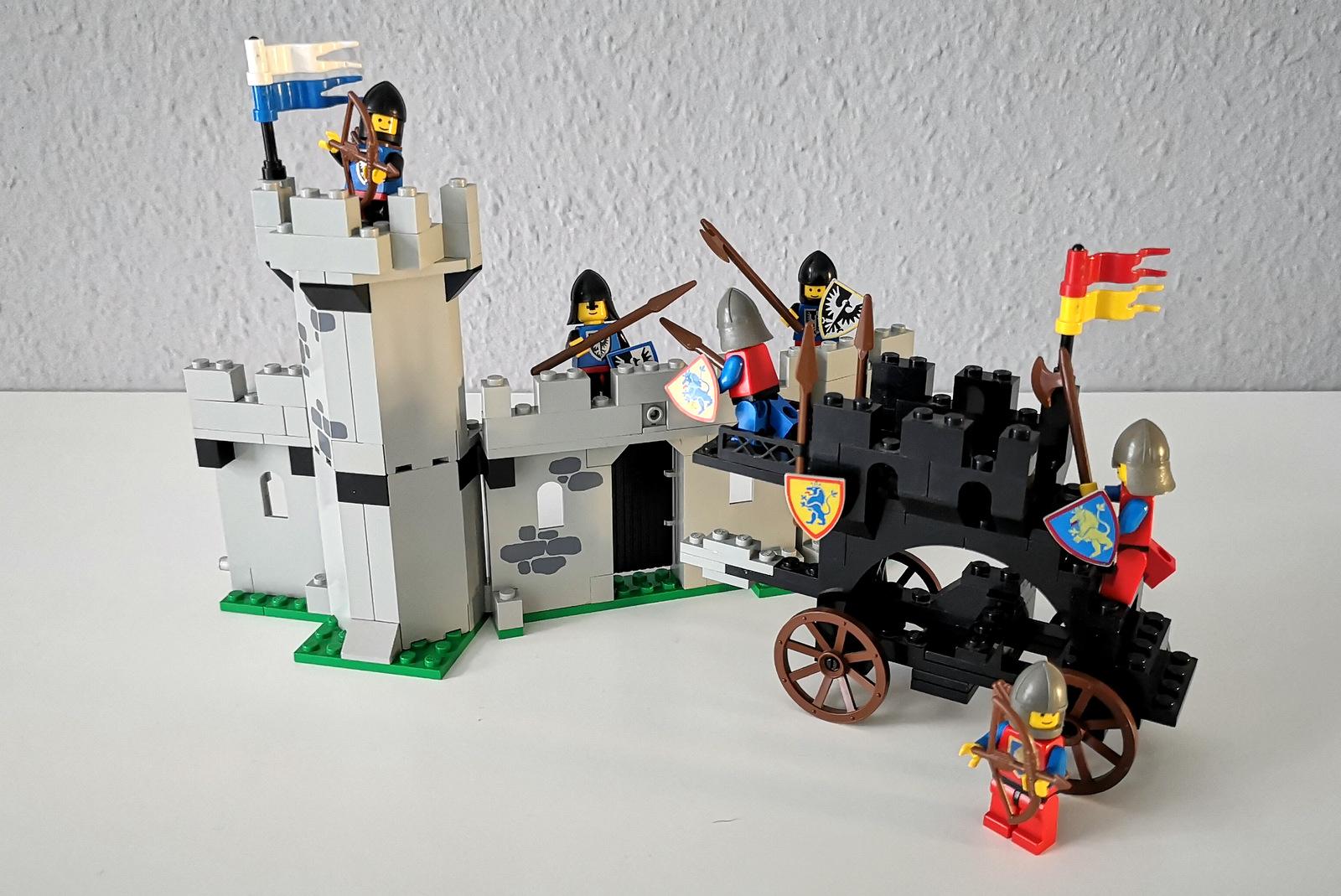LEGO 6062 Burg Kampf Löwenritter gegen Black Falcons