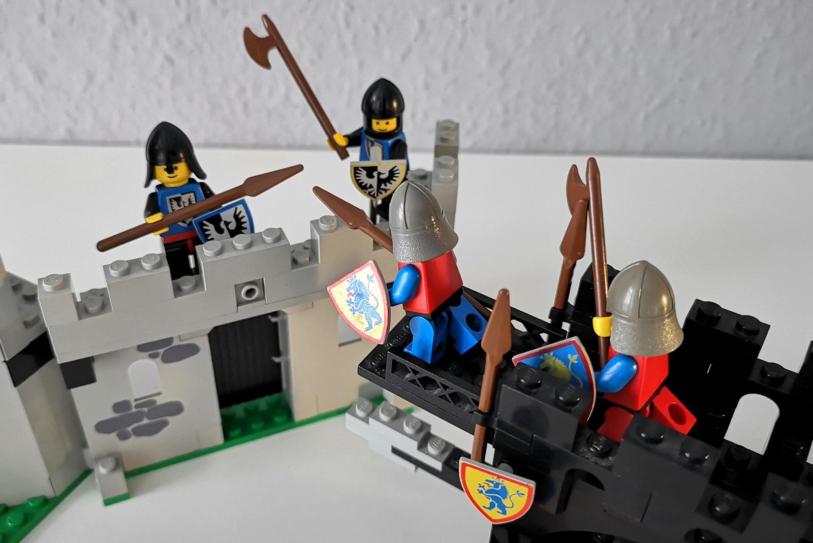 LEGO 6062 Burg Kampf Minifiguren Ritter