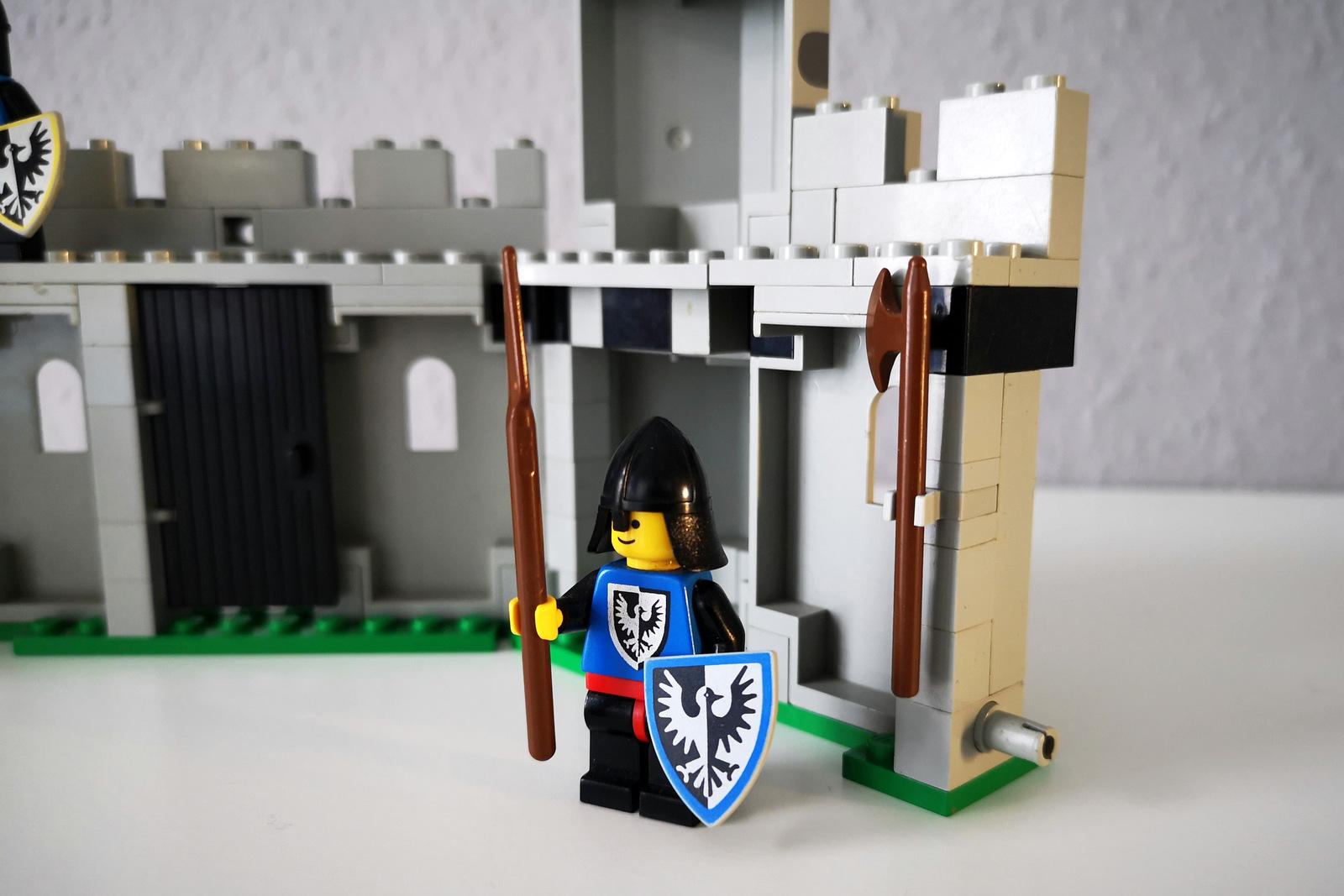LEGO 6062 Burg mit Minifigur Ritter