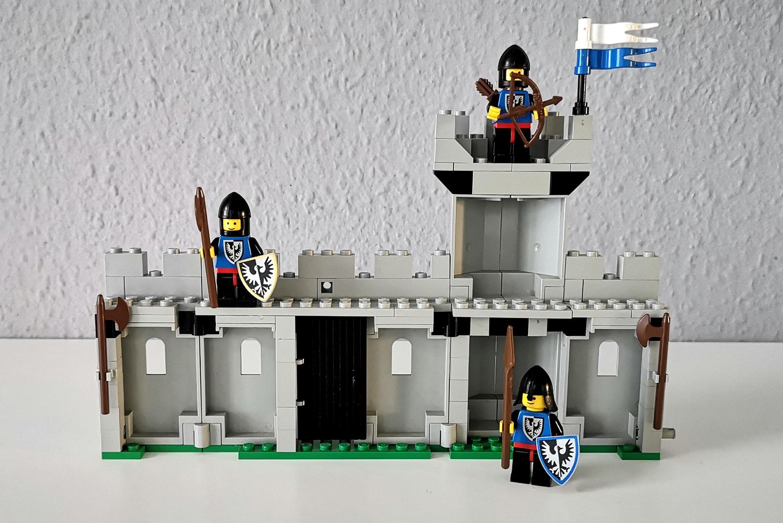 LEGO 6062 Burg mit Minifiguren Black Falcons
