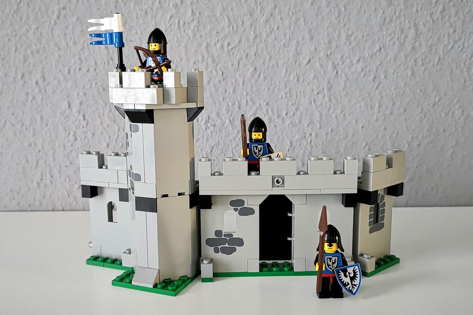 LEGO 6062 Burg mit Ritter Minifiguren