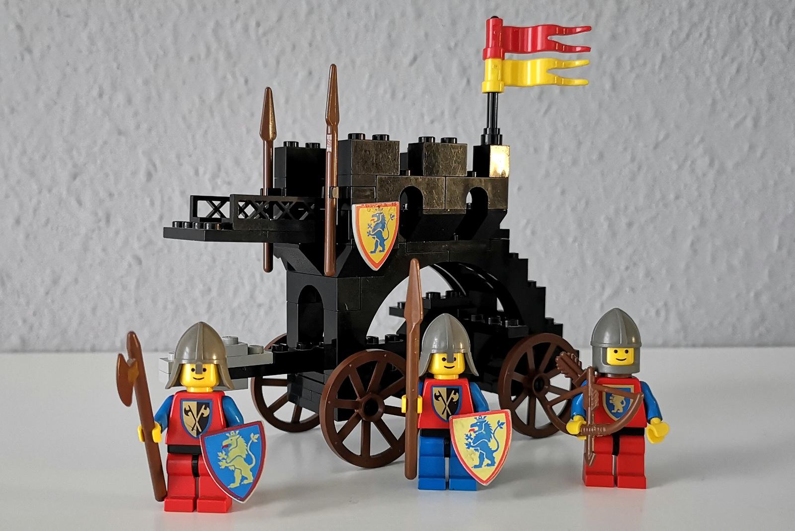 LEGO 6062 Löwenritter Figuren