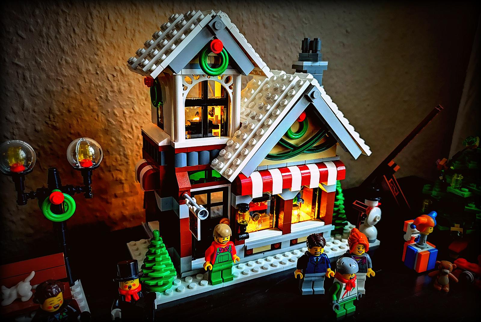 10249 LEGO Beleuchtung selber bauen