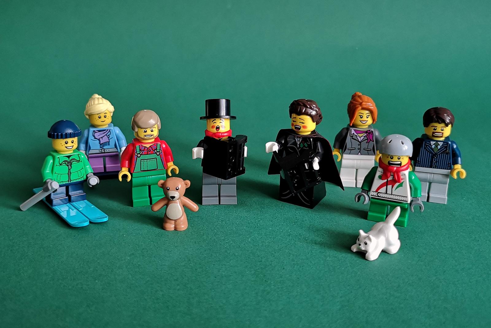10249 LEGO Set Minifiguren Großaufnahme