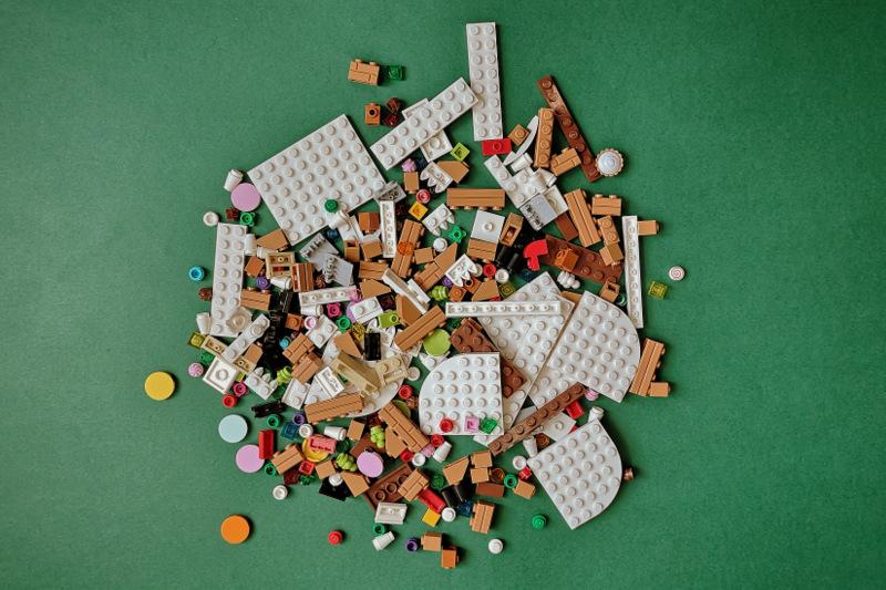 40139 LEGO Set alle Teile auf einen Blick