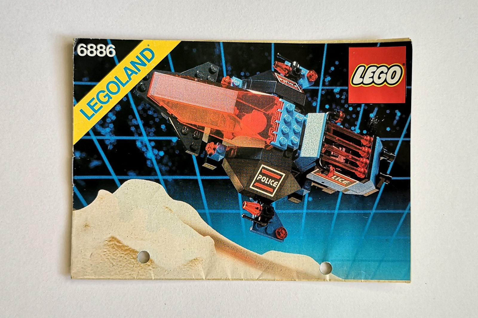 6886 LEGO Space Police Anleitung