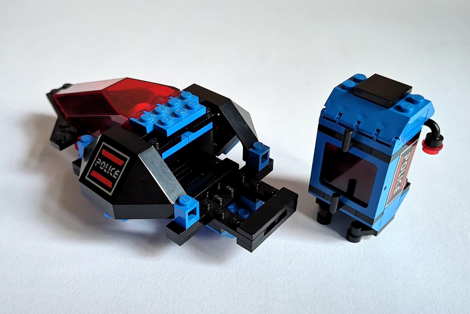 6886 LEGO Space Police Gefängnis
