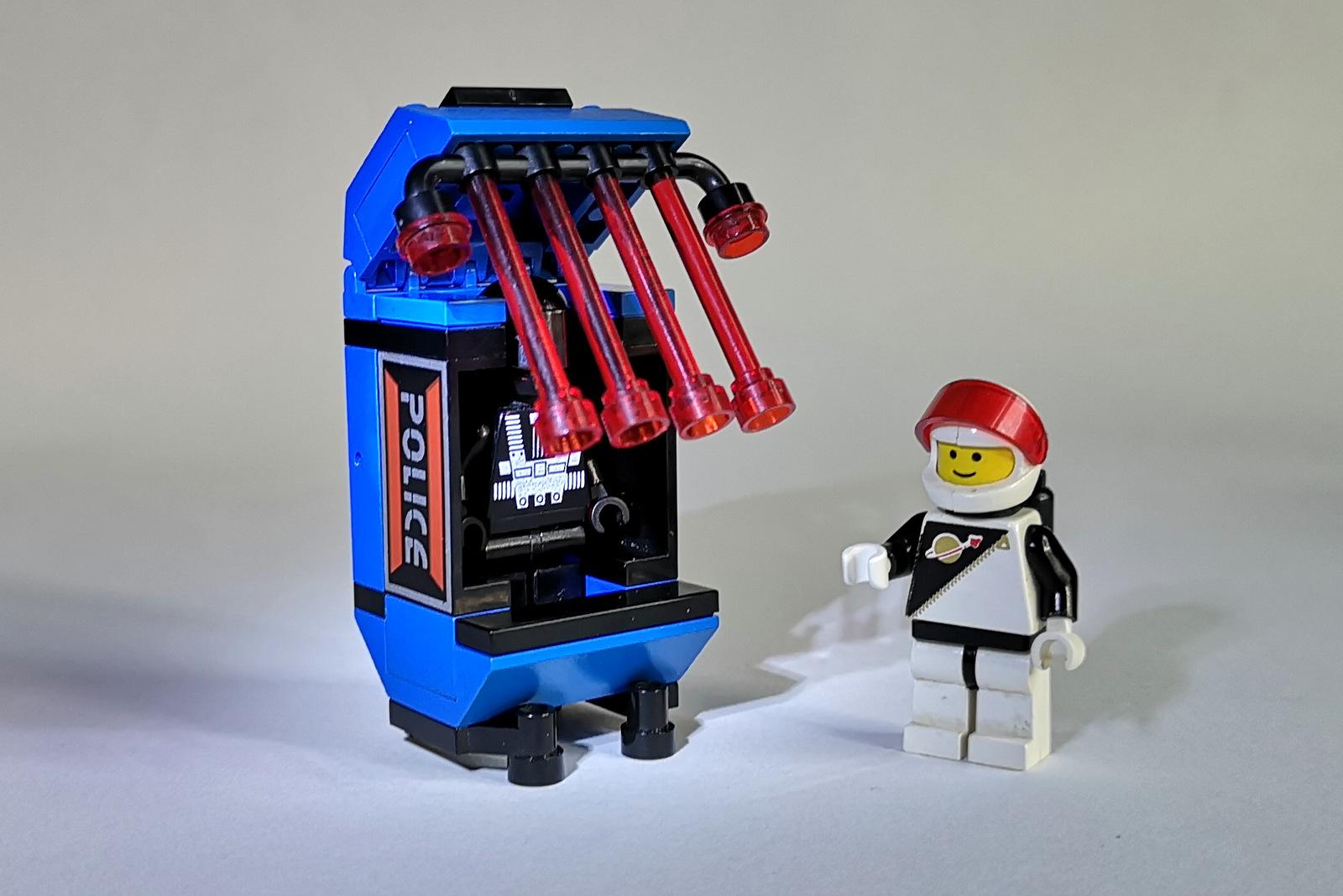 6886 LEGO Space Police Prison Figuren