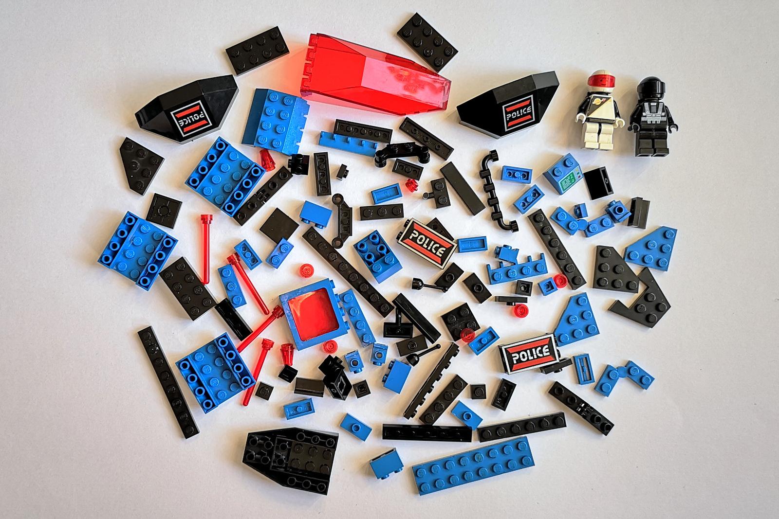 6886 LEGO Space Police Teile