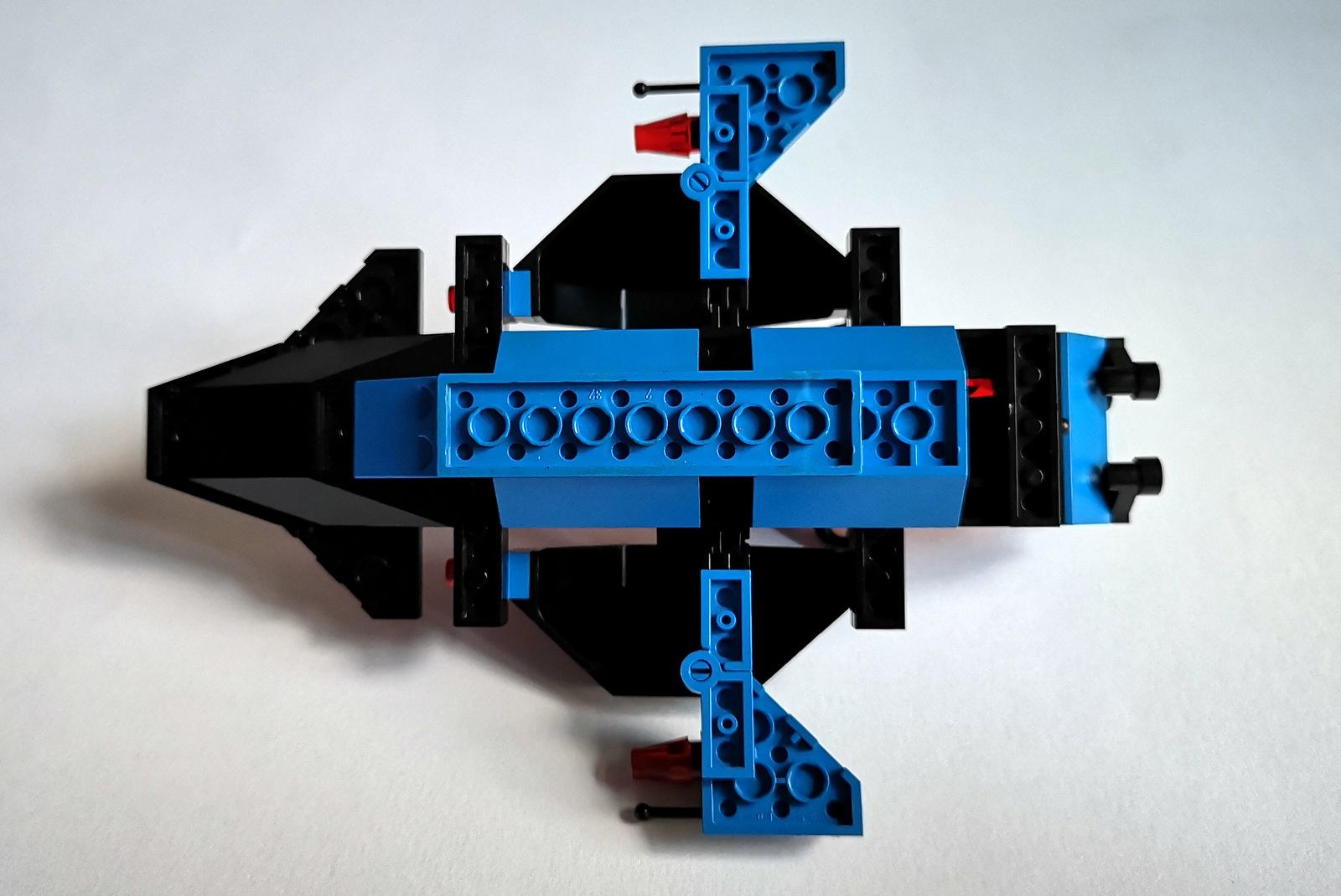6886 LEGO Space Police Unterseiter Waffen