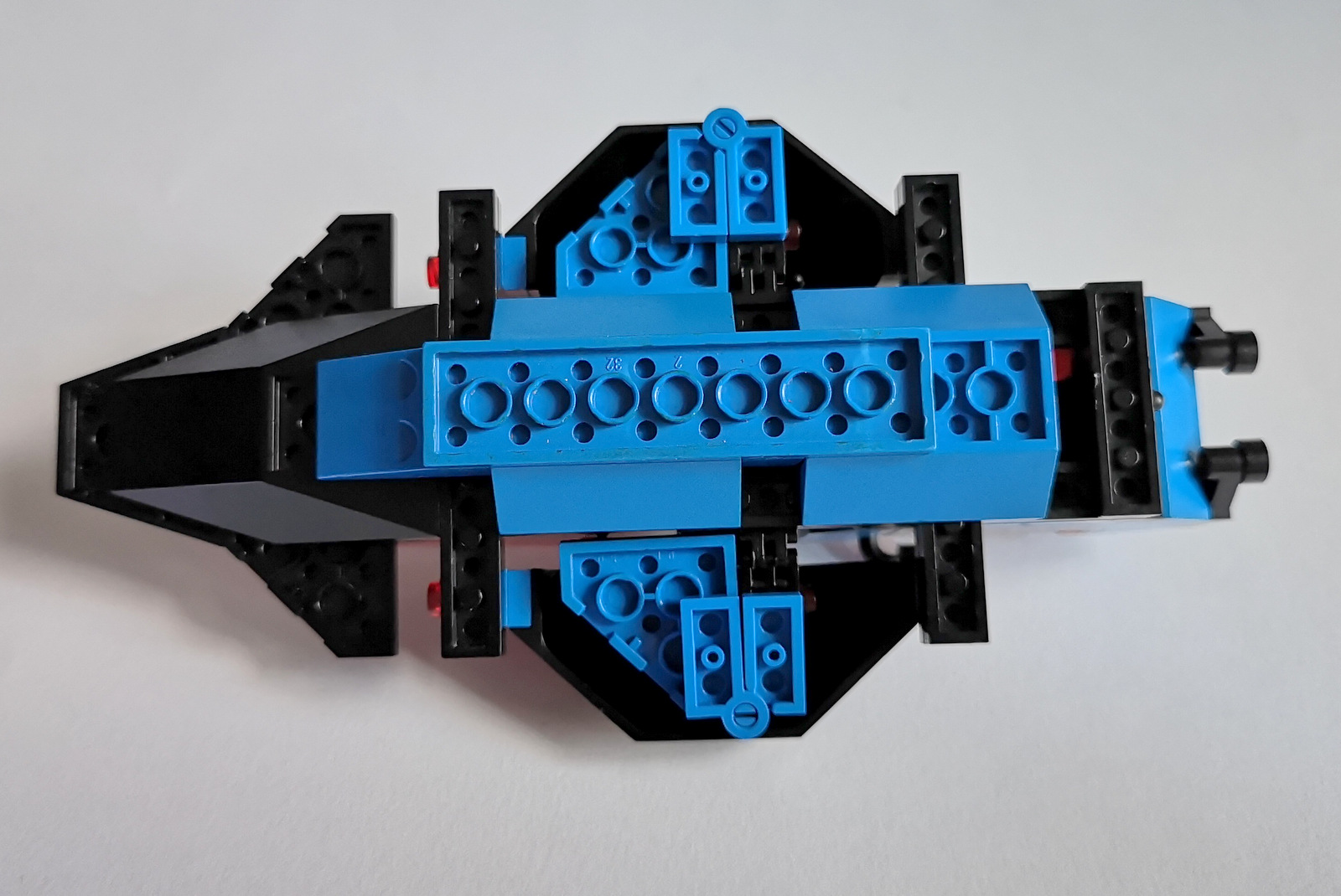 6886 LEGO Space Police Unterseiter