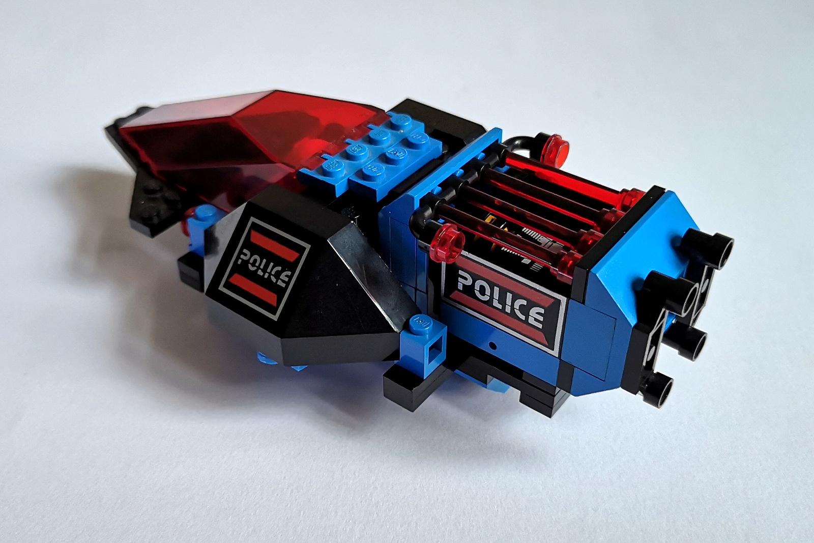 6886 LEGO Space Police von oben
