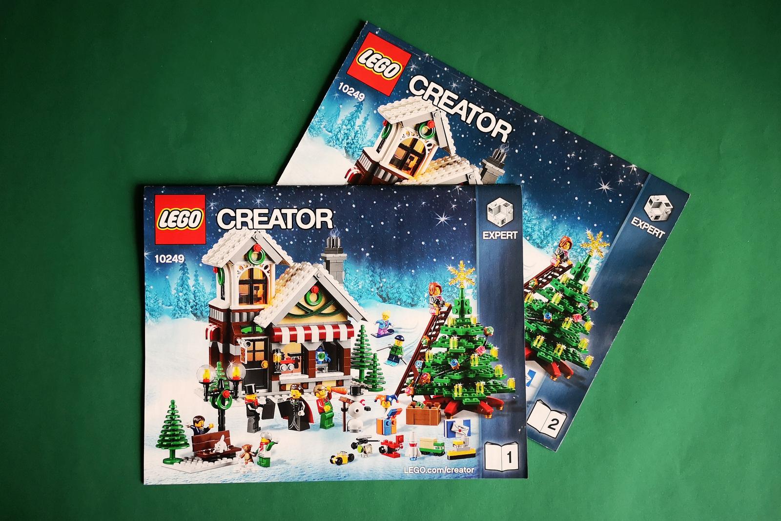 LEGO 10249 Anleitung zum Aufbau
