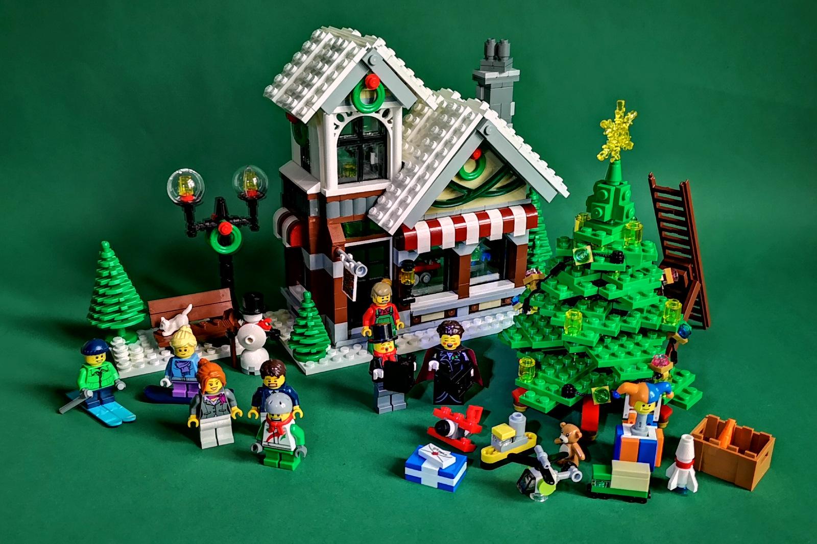 LEGO 10249 fertig aufgebaut