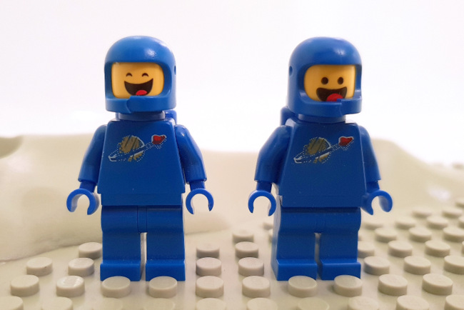 70841 LEGO Benny Minifigur Space