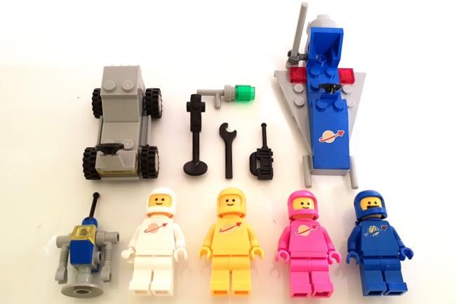 70841 LEGO Figuren und Teile auf einen Blick