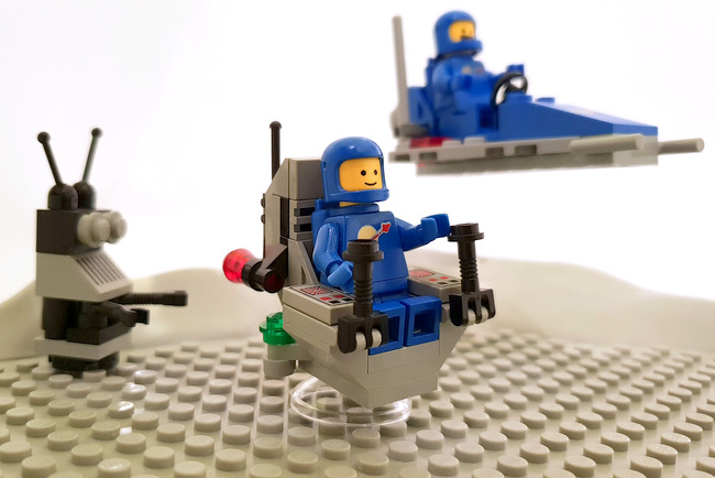 70841 LEGO Space Diorama Benny und Crew