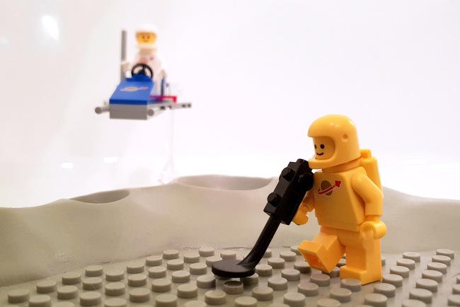 70841 LEGO Space Diorama Minifigur