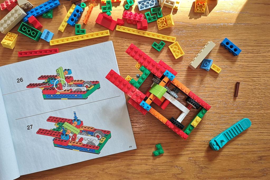 LEGO 21317 Aufbau Steamboat WIllie