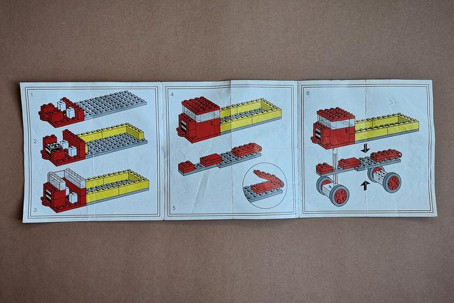 LEGO 331 Bauanleitung Rückseite