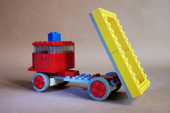 LEGO 331 Kipper Kippfunktion Ladefläche