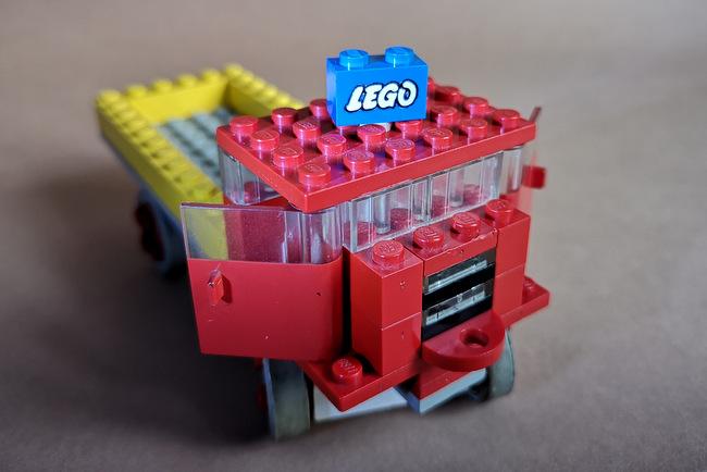 LEGO 331 Kipper Sondersteine Detailansicht