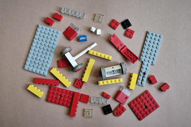 LEGO 331 alle Teile auf einen Blick