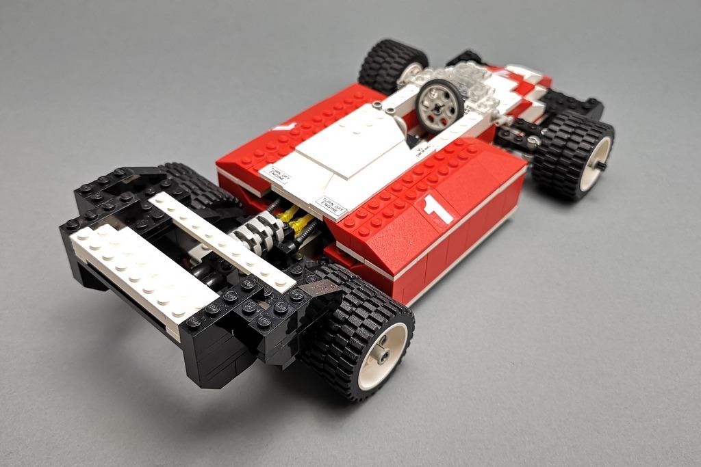 LEGO 5540 Model Team Racer Ansicht von hinten