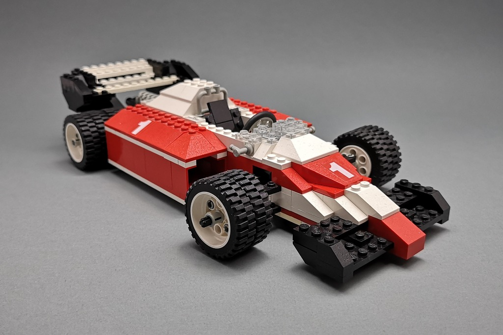 LEGO 5540 Model Team Racer Bild Front