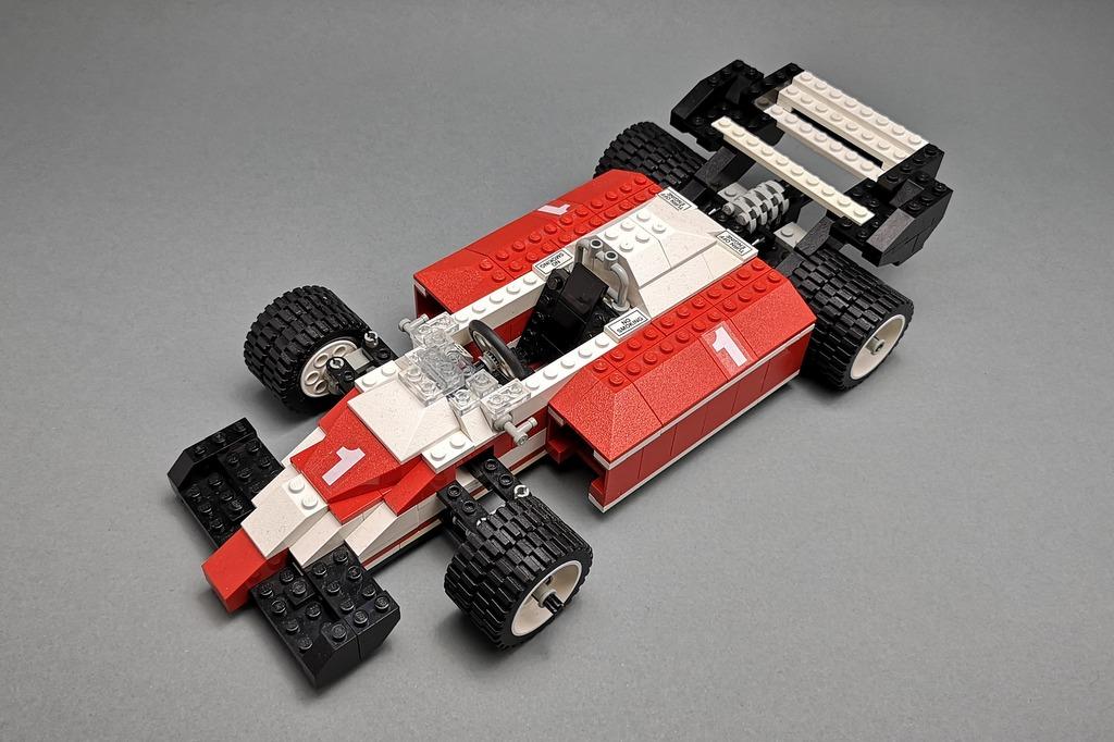 LEGO 5540 Model Team Racer Bild von schräg oben