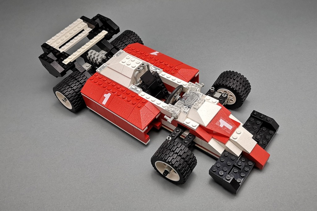 LEGO 5540 Model Team Racer Blick von oben