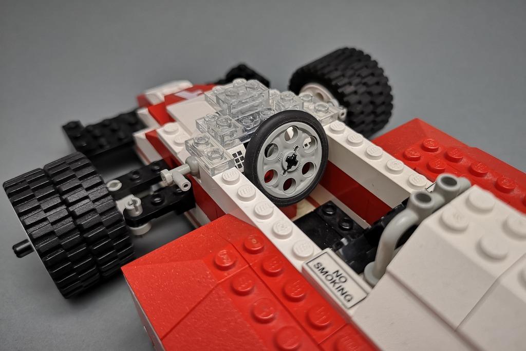 LEGO 5540 Model Team Racer Cockpit Detail