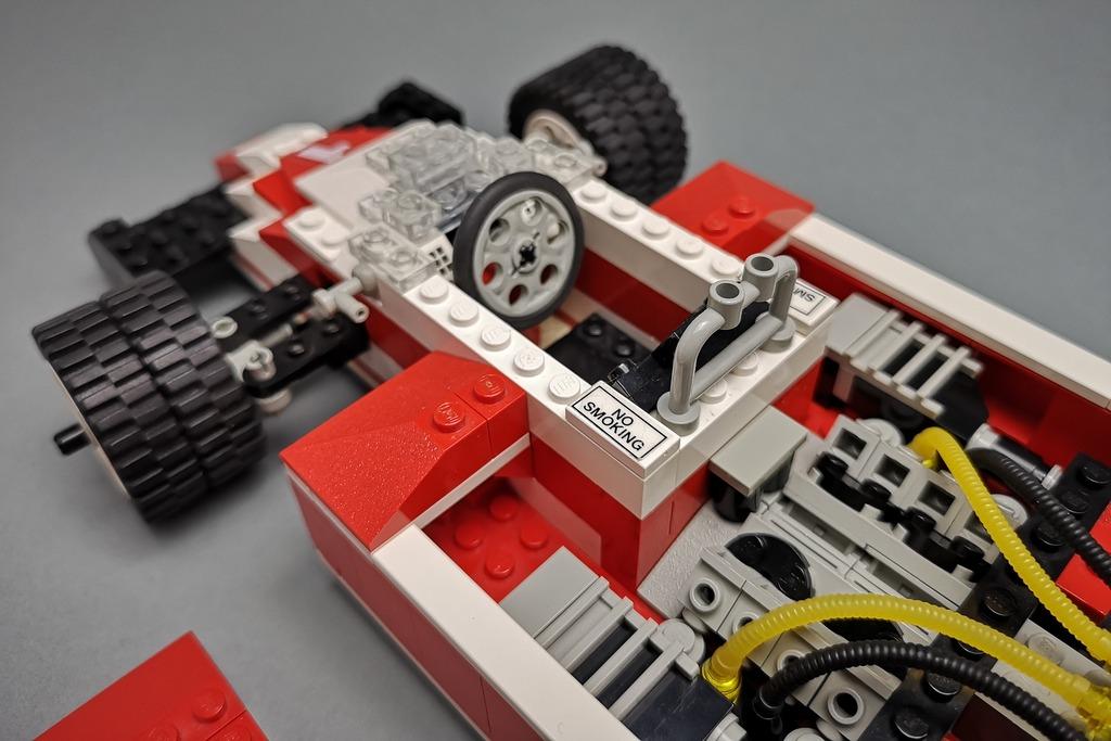 LEGO 5540 Model Team Racer Cockpit