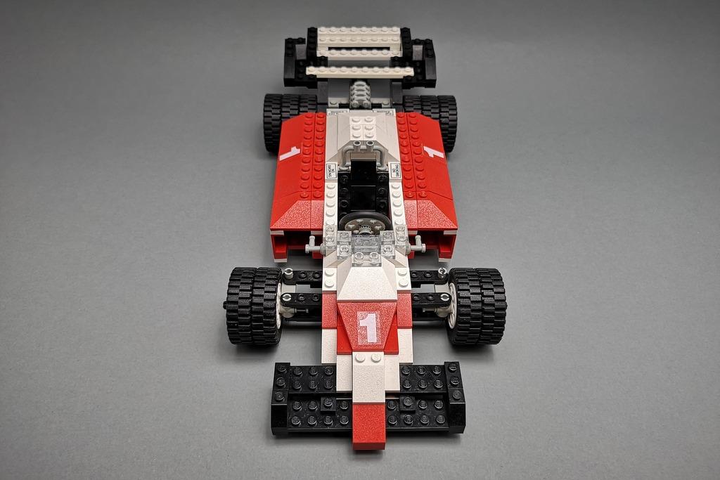 LEGO 5540 Model Team Racer Front von oben