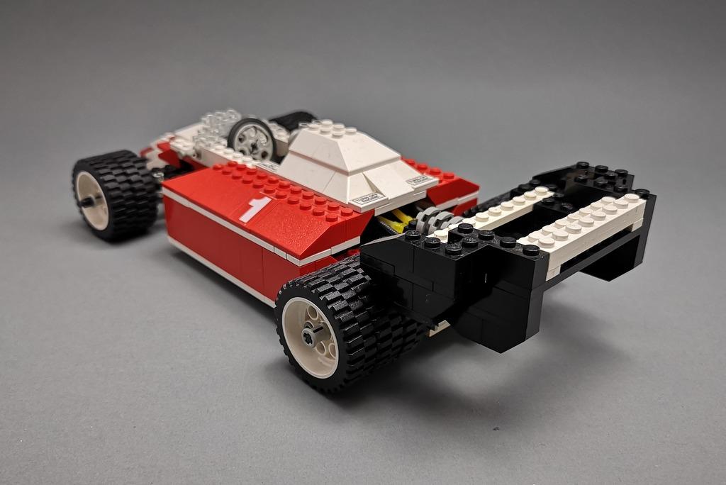 LEGO 5540 Model Team Racer Rückansicht