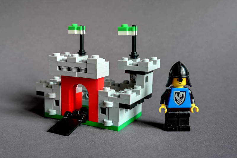 LEGO 6073 Mini MOC mit Bauanleitung