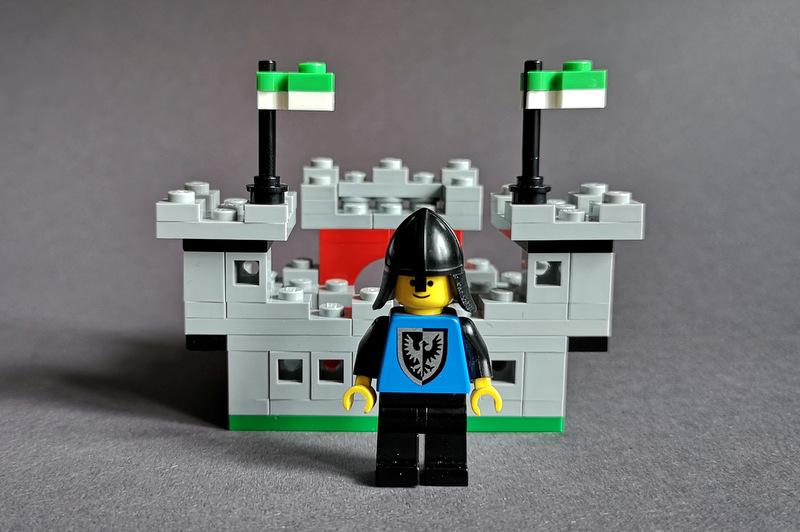 LEGO 6073 Mini Rückseite