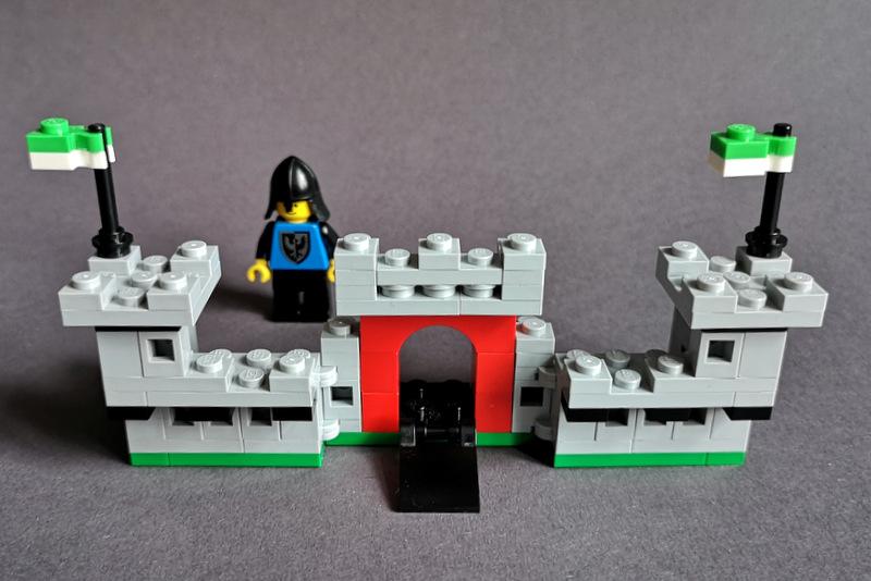 LEGO 6073 Mini aufgeklappt