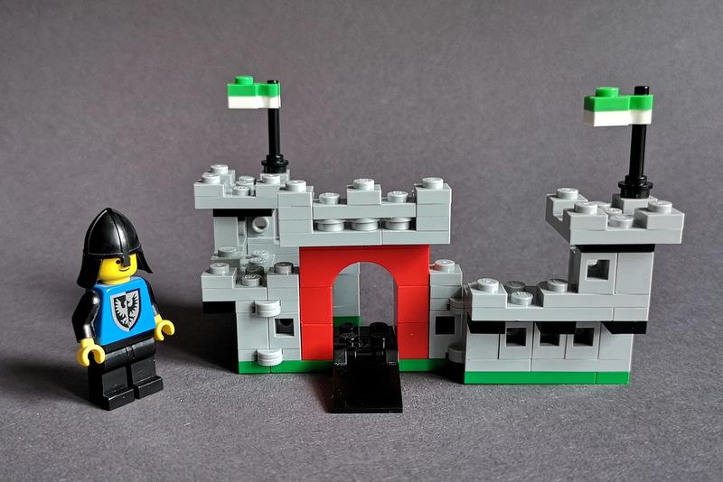LEGO 6073 Mini mit Klappfunktion